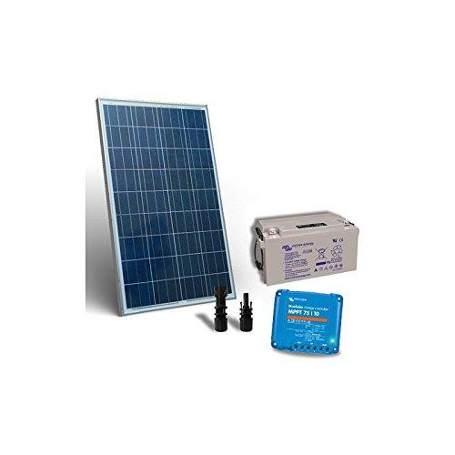 puntoenergia Italia–Kit solar 100W 12V Pro2Panel Fotovoltaico Regulador 10A MPPT batería 60Ah–ksp2–100–12-b60-avf