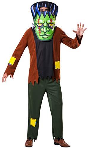 My Other Me Disfraz Frankenstein CABEZUDO ML Hombre