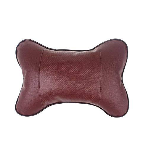 XQRYUB Cuscino poggiatesta per seggiolino Auto Cuscino per poggiatesta in Pelle Cuscino per la Sicurezza Accessori