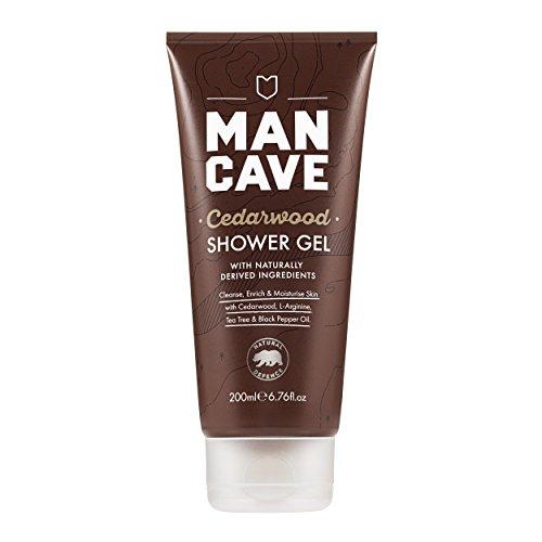 ManCave Natural Cedarwood Shower Gel 200ml