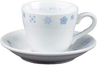 コーヒーカップ 小さい/ALL WAYSデミタスコーヒーカップ&ソーサー 100cc /業務用 家庭用 北欧 シンプル ホワイト