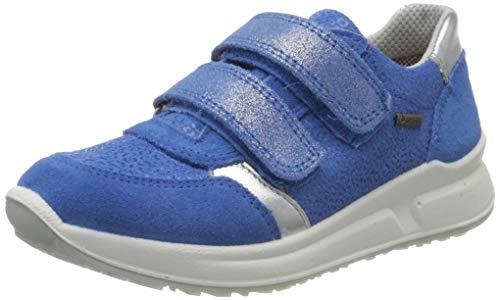 Superfit Mädchen Merida Sneaker, Blau (Blau 80), 30 EU