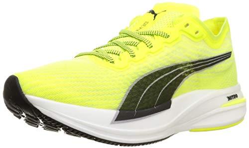 PUMA Deviate Nitro - Zapatillas de running para hombre, color Amarillo, talla 42.5 EU Weit