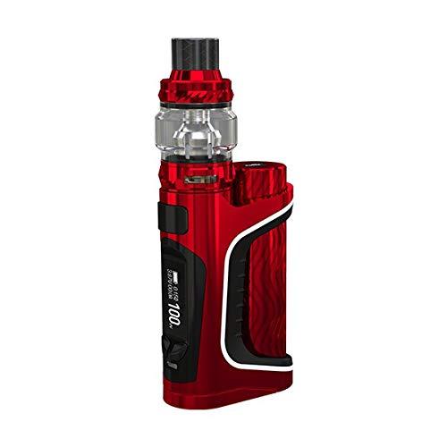 Eleaf iStick Pico S-Kit 100 W TC-Box Mod mit ELLO VATE 6.5-ml-Topfüllungsbehälter-Rot
