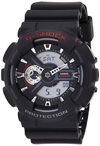 Casio G-Shock Herren Harz Uhrenarmband GA-110-1AER