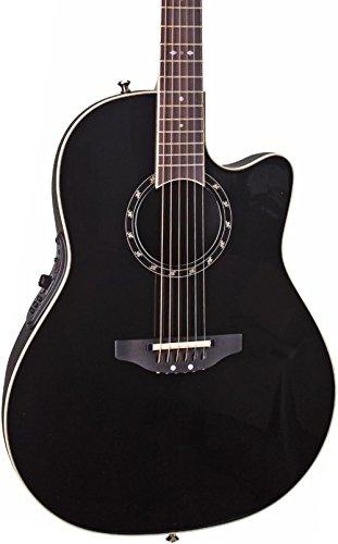 OVATION 2771AX-5 - BLACK Guitare électro acoustique Folk éle