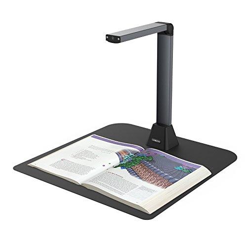 Viisan VS12300F Dokumentenscanner Max. Scanbereich A3. Auflösung 4032x3024. Software für Bildbearbeitung und OCR Texterkennung. Faltbar & Tragbar