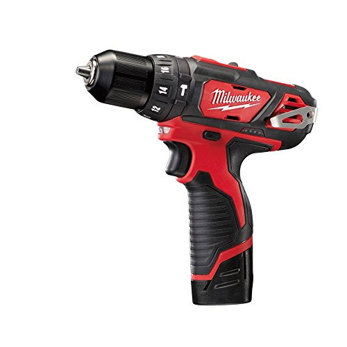 Milwaukee M12 BPD-202C Taladro percutor subcompacto, 12 W, 12 V, Red-black