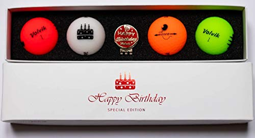 Volvik Vif Joyeux Anniversaire Paquet Golf Balles (4 Balls )...