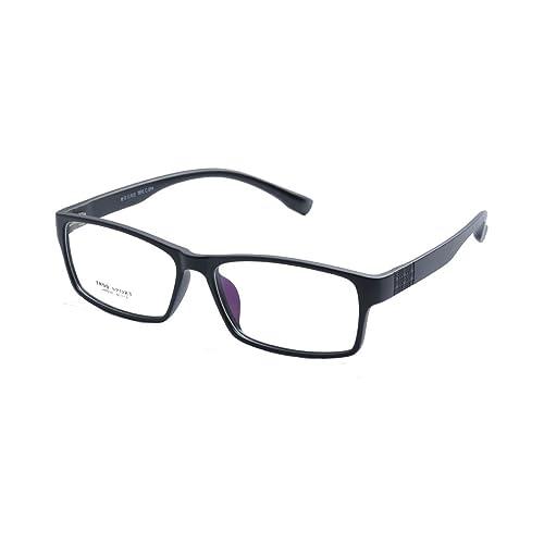 d6acb44b61 Deding Men Super Large Wide Oversized Full Frame Squaretr90 Glasses Frame  Size 60-189-