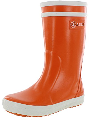 Aigle Unisex-Kinder Lolly Pop Gummistiefel Orange (Vermillon) 27 EU(9 UK)
