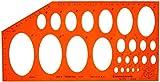 Plantilla de Dibujo Técnico Elipses Proyección Isométrica Figuras Simbolos Formas Geométricas Escuel...