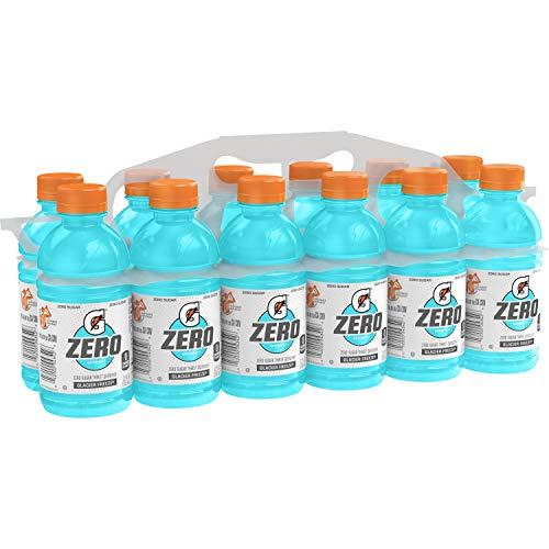 Gatorade Zero Glacier Freeze, 12 Fl Oz Bottles, Pack of 12