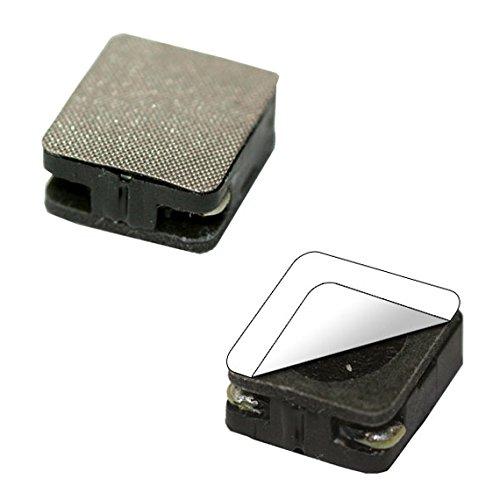 Lautsprecher 14 mm x 12 mm, rechteckig, 8 Ohm, 1 - 2 W, mit Schallkapsel, selbstklebend