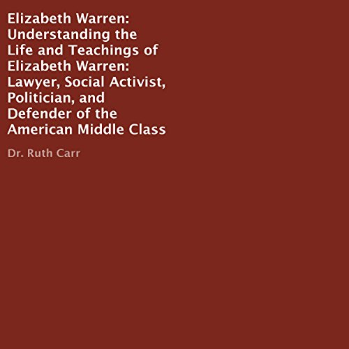 Elizabeth Warren audiobook cover art