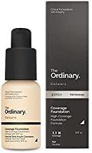 The Ordinary Coverage Foundation SPF15 30ml (1.1 N) -Fair(
