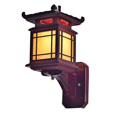 Traditionelle Chinesische bewaldeten Flur Wand Lampen antik geschnitzt House Schlafzimmer Wandleuchte Wohnzimmer Wand Leuchten Traditionell coffee