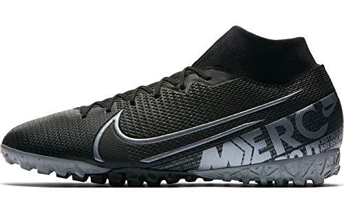 Nike Herren Superfly 7 Academy Tf Fußballschuh, Black MTLC Cool Grey Cool Grey, 47 EU