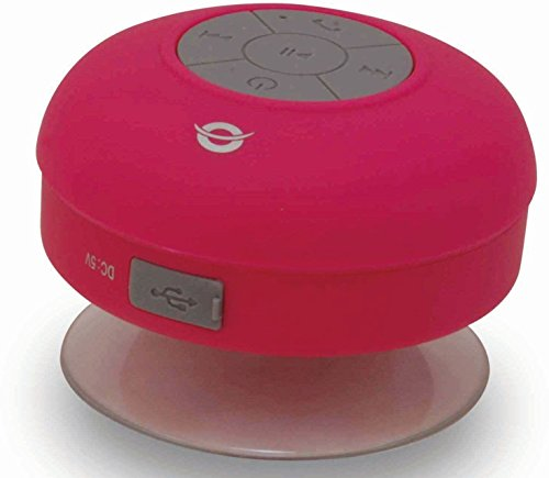Conceptronic CSPKBTWPSUCP 3 W Rojo - Altavoces portátiles (3 W, 100-20000 Hz,...
