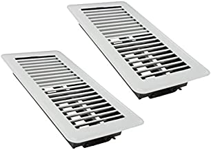 "Rocky Mountain Goods 4"" x 10"" Floor Vents 2 Pack – Heavy Duty Walkable.."