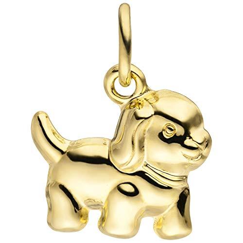 JOBO Damen-Anhänger Hund aus 333 Gold