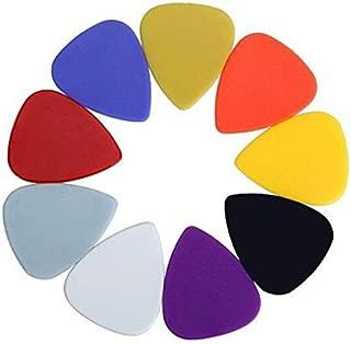 Tinksky 100pcs Universal Plastic Guitar Picks Plectrums for Acoustic and Electric Guitar (Random Color)