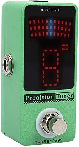 SWEET Guitarra Pedal De Efectos Sintonizador 12 Display Equal Sintonización LED Guitarra Color Sintonización Pedal para Sintonización De Electroacústica Instrumentos