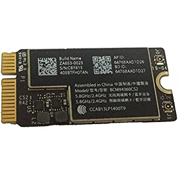 """willhom BCM94360CS2 WiFi Bluetooth Airport Wireless Card Replacement for MacBook Air 11"""" A1465 (2013, 2014, 2015) 13"""" A1466 (2013, 2014, 2015, 2017) (661-7465, 661-7481, 653-0023)"""