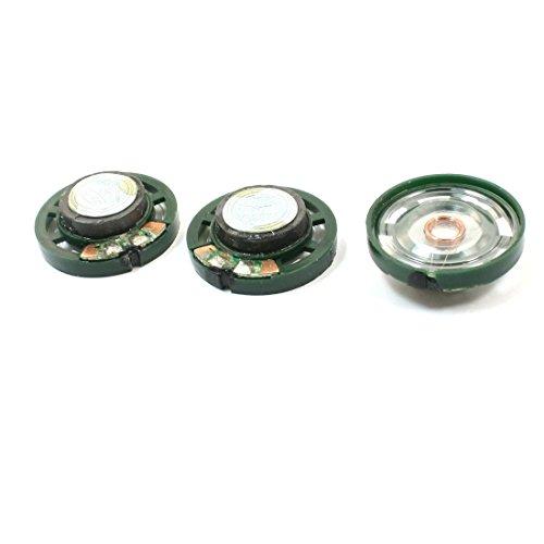 Aexit 3 STÜCKE Rohs Approved 0,25 Watt 8ohm 85db 27mm Durchmesser Lautsprecher für Spielzeug (c8619ec73a5262f73768e51c67d7dc86)