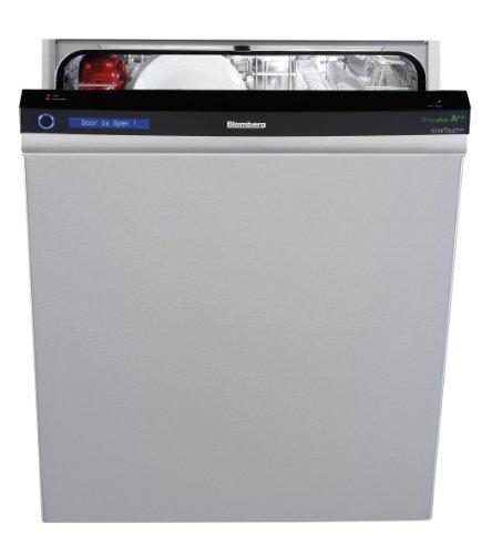 Blomberg smarTouch XB20 Freistehender Geschirrspüler / A++ A / 0.9 kWh / 12 MGD / 10 Liter / 60 cm / Sensorautomatik / Turbotrockung / edelstahl / Eco Top Ten
