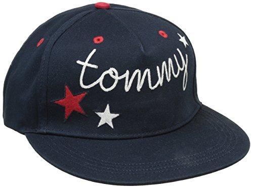 Tommy Jeans Mujer CAP 12 Gorra de béisbol Azul (Dress Blues) Large (Talla del fabricante: L-XL)