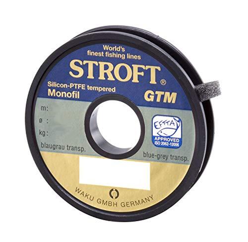 Stroft GTM - Sedal monofilamento de pesca (25 m) Talla:0,080mm-1kg