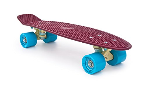 Miller Skateboards Longboard Baby Old is Cool Series, Wine Red, S01BM0007