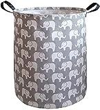 KUNRO Large Sized Storage Basket Waterproof Coating...
