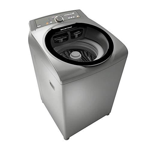 Máquina de Lavar Brastemp 11kg, Cor Inox, 110V