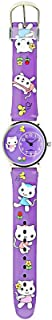 Purple Happy Cats Watch (Kids Watch)