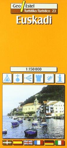 EUSKADI - MAPA TURÍSTICO 1:150.000 (Ciudades. Planos/Guia)