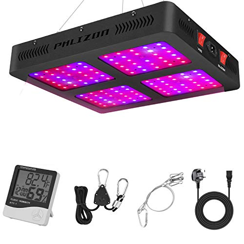 Phlizon 1200W Double Switch Series Plant LED Grow Light for Indoor Plants...