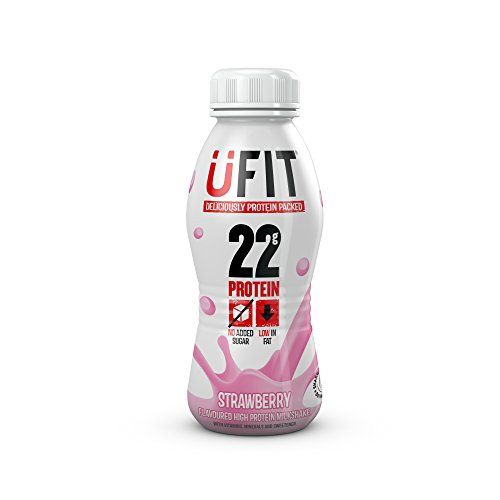 UFIT - High Protein Strawberry Milkshake - 310ml (Case of 4)