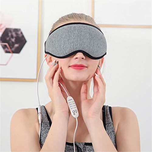Guoyajf USB Beheizte Augenmaske Mit Infrarotheizung Für Die Augentherapie, Dampf-Augenmaske Mit Zeit- Und Temperaturkontrolle Für Augenschwellungen, Trockenes Auge Und Müde Augen