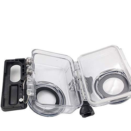 EPMEA0 1 UNID Caja de la Carcasa Impermeable para Insta360 One R 360 Grados Edición Protectora Estuche de Buceo bajo el Agua Cáscara con Accesorios de Soporte (Color : 360R FSK 360G11)