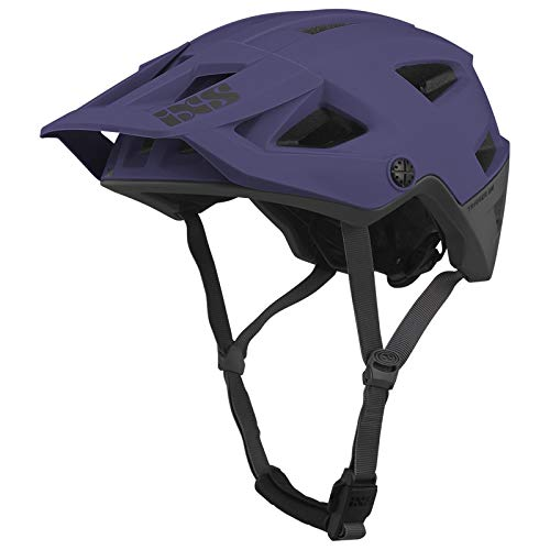 IXS Trigger Am Casco para Bicicleta de montaña, E-Bike/Ciclo Adulto Unisex, Grape...