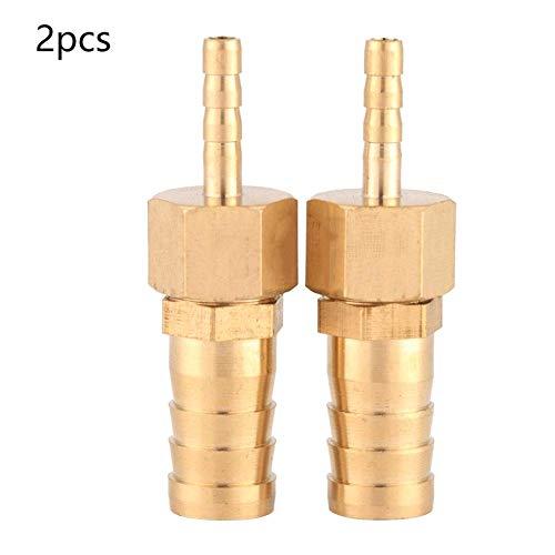 2 STÜCKE 4-12 mm Messing Schlauchanschluss Schlauchanschluss für Pool Teich Schlauchadapter