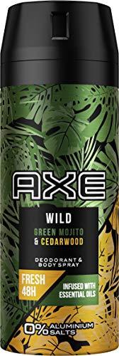 Axe Wild Déodorant en spray Green Mojito & Cedarwood sans...