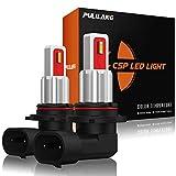 Pulilang Bombillas LED Antiniebla 9006 HB4 CSP Chips 2100K Amarillas Ámbar Claro LED de Conducción Diurna Lámparas Antiniebla DRL Para Reemplazo Halógeno, 12-24V Sin Polaridad 40W 5000LM, 2 Lámparas