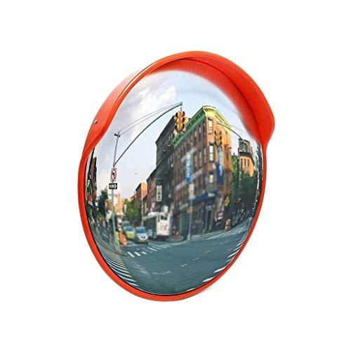 Roadside Sidewalk veiligheid verkeersspiegel, City Road Convex veiligheidsspiegel regendicht zonnebrandcrème Outdoor groothoek Lens 60CM/75CM/80CM voorkomen verkeersongevallen