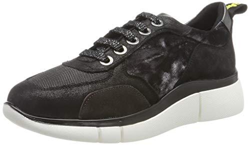 24 HORAS 24307, Zapatos de Cordones Brogue Mujer, Gris (Gris 11), 40 EU