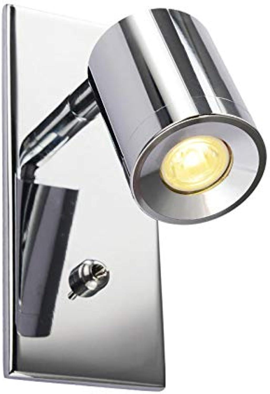 envío rápido en todo el mundo Luz Luz Luz de parojo LED, lámpara de parojo simple Lámpara de parojo Lámpara de parojo de lectura creativa moderna con dirección ajustable del interruptor  al precio mas bajo