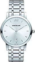 MontBlanc Star Classique 108768 Silver Dial Stainless Steel Mens Watch