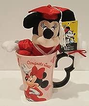 Disney Minnie Mouse Graduation Plush with Minnie Mug